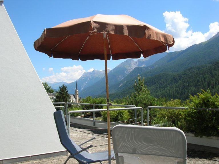 Ferienwohnung Kleines Ritz Tulai F83 Scuol Flat Kleines Ritz