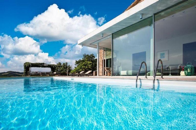 Moderna Villa Privata Con Piscina Ampia Veranda 9 Posti Letto 4 Camere Wi Fi Pesaro E Urbino Interno